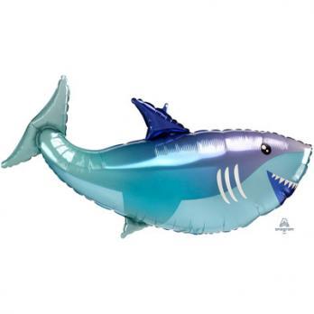 "Шар фигура фольга ""Акула"""