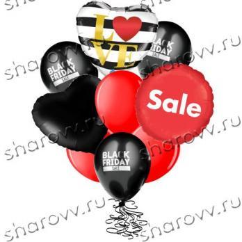 """Букет из шаров """"Big Love Sale"""""""