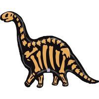 Шар фольгированный Динозавр Бронтозавр