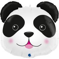 Шарик фольгированный Голова панды