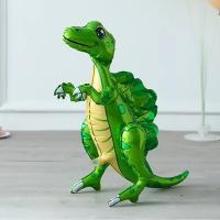 "Шар ходячка Спинозавр зеленый"""