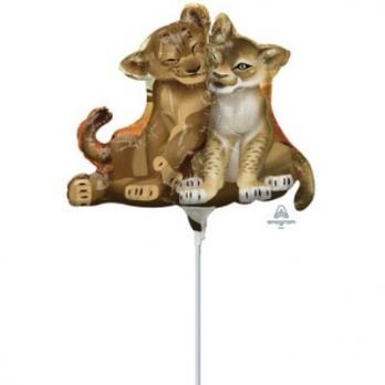 Шарик на палочке Король Лев Симба и Нала