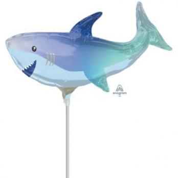 """Шарик на палочке Акула"""""""