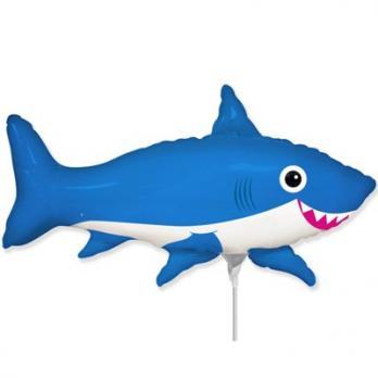 "Шарик на палочке ""Акула веселая"""
