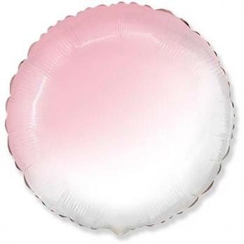"Шар круг Градиент розовый"""