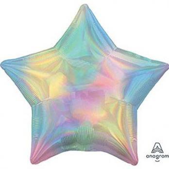 Шар звезда Переливы Пастель