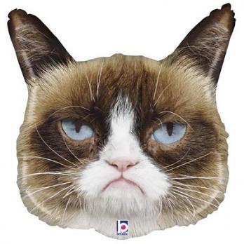 """Шар фиура """"Сердитая Кошка"""""""