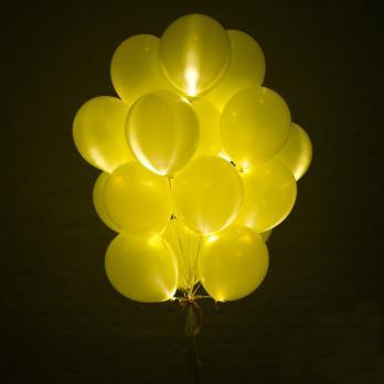 """Шарики светящиеся """"Желтый"""""""