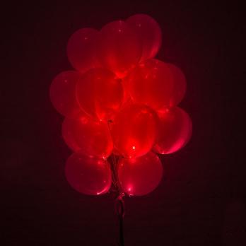 Шары со светодиодами Красные
