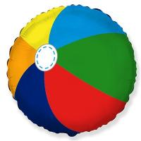 "Шар круг ""Пляжный мяч"""