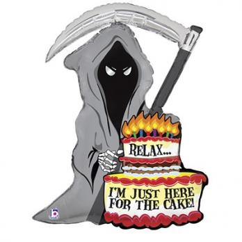 Шар фигура JUST FOR CAKE Смерть с косой