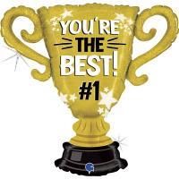 Шар фигура YOU'RE THE BEST Кубок чемпиона