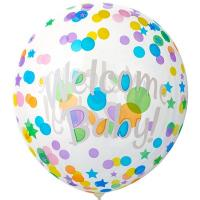 """Шар BUBBLE """"WELCOME BABY"""""""