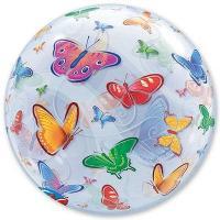 "Шар BUBBLE ""Бабочки"""