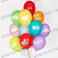 """Шары латекс """"1 сентября, ассорти"""""""