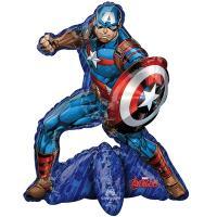 """Шар фигура """"Капитан Америка"""""""