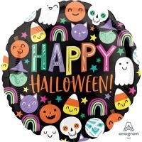 """Шар круг """"Хеллоуин улыбки"""""""