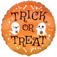 """Шарик """"Хэллоуин Trick or Treat"""""""